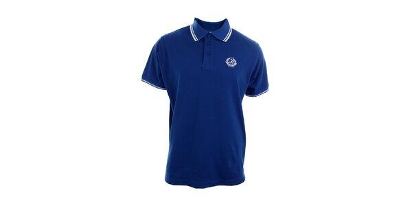 Pánské modré polo tričko Polo Club