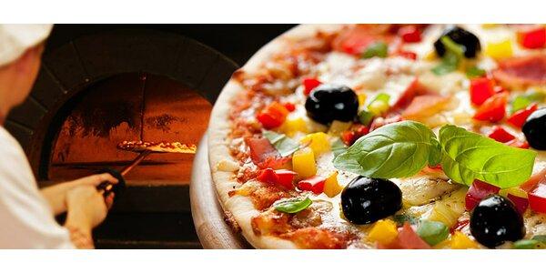 Dvě pizzy dle výběru v La Cantina