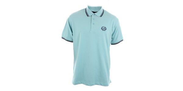 Pánské bleděmodré polo tričko Polo Club