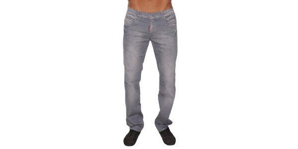Pánské šedé džíny Giorgio di Mare