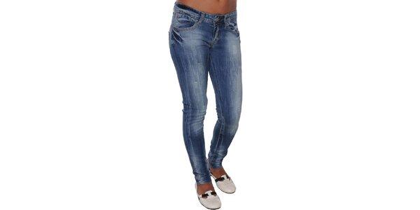 Dámské šisované džíny s trikolorou Giorgio di Mare