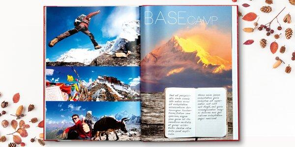 Fotokniha A4 šitá nití v tvrdých deskách: 32 až 200 stran