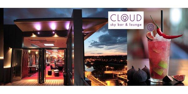 495 Kč za některou z variací pro 3-4 osoby ve sky baru Cloud 9