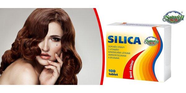Silica 100 tablet - švédský doplněk stravy - pro zdravé nehty a vlasy