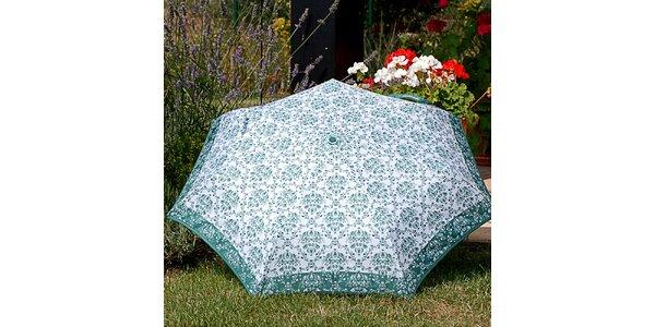 Dámský deštník se vzorem Alvarez Romanelli zelený
