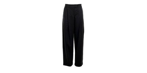 Dámské antracitové kalhoty Max Mara