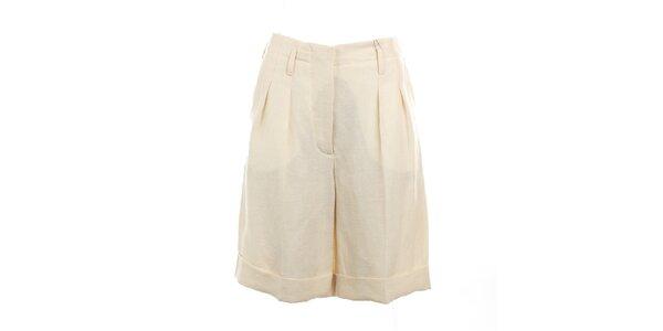 Dámské krémově bílé šortky Max Mara