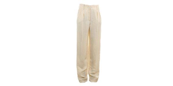 Dámské béžové kalhoty Max Mara
