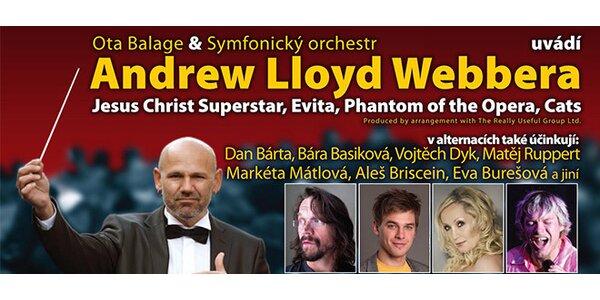 Velkolepý koncert písní z muzikálů A. L. Webbera