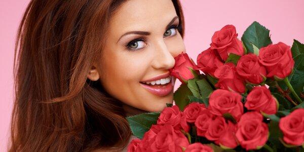 Udělejte radost: kytice 9 až 100 růží i doručení