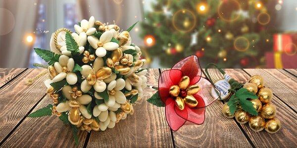 Tip na dárek: kytice z čokolády a mandlí
