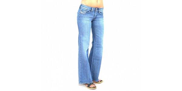 Dámské světle modré široké džíny Diesel