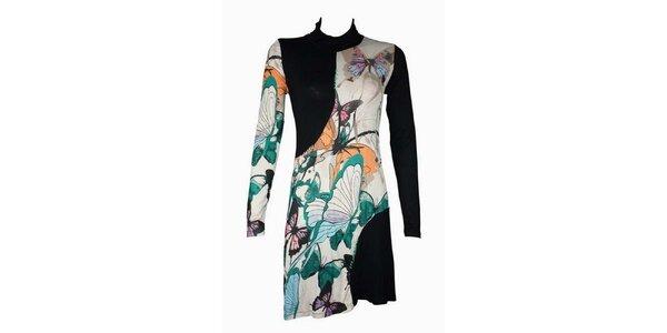 Dámské pestrobarevné šaty Smash s motýly