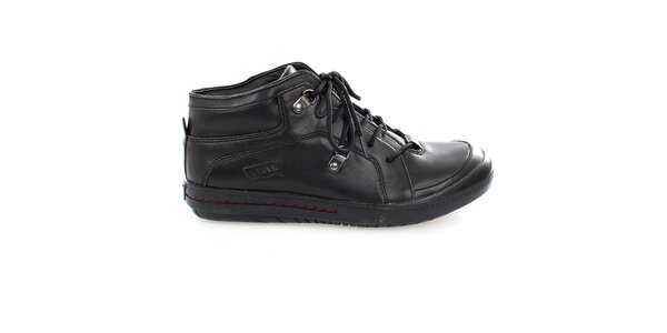 Pánské černé šněrovací boty Levis