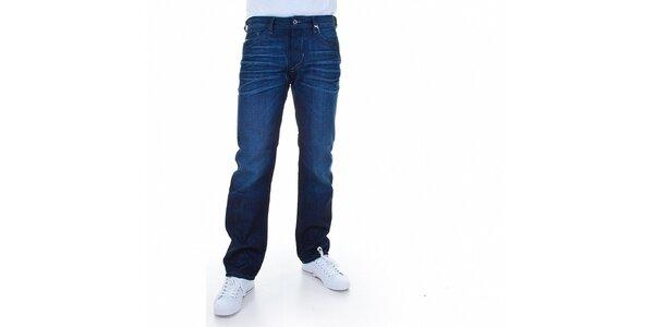 Pánské tmavě modré džíny Diesel