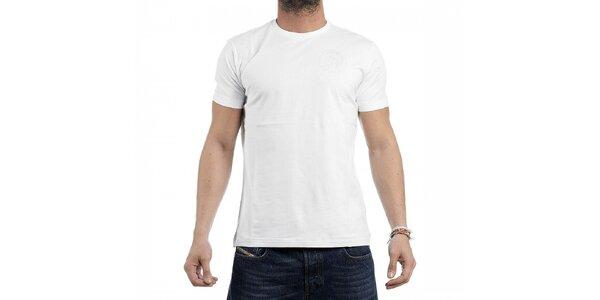 Pánské bílé tričko Diesel