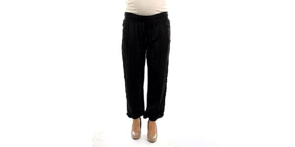 Dámské černé těhotenské kalhoty Next Maternity