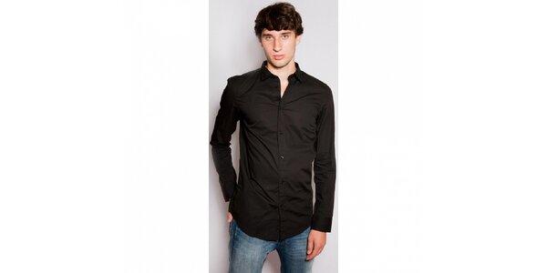 Pánská černá košile Diesel