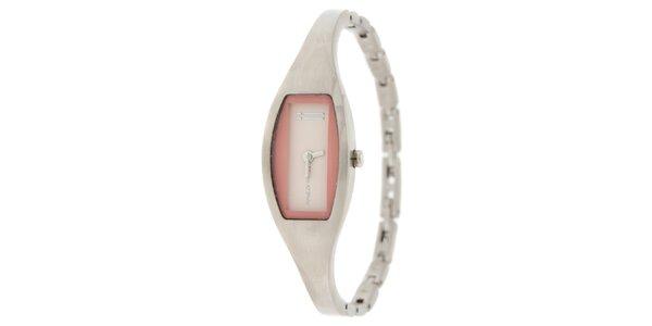Dámské náramkové hodinky Marc O´Polo a růžovými detaily