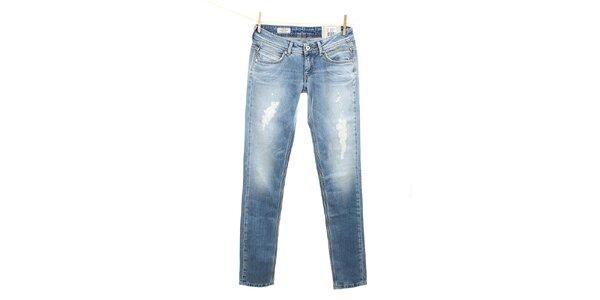 Dámské světle modré slim fit džíny Pepe Jeans