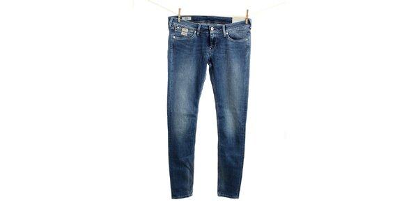 Dámské modré slim fit džíny Pepe Jeans