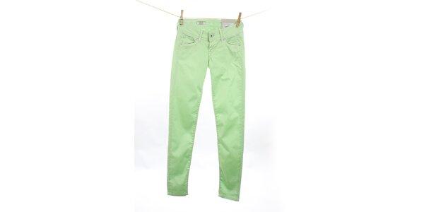 Dámské mátově zelené slim fit džíny Pepe Jeans