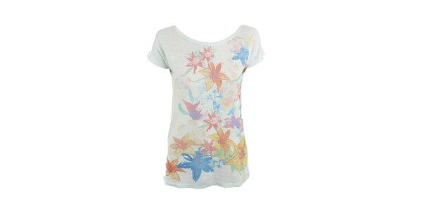 Dámské květinové tričko Pepe Jeans