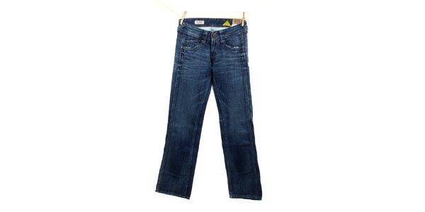 Dámské modré komfortně střižené džíny Pepe Jeans