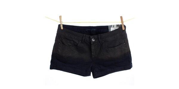 Dámské černé džínové kraťasy Pepe Jeans