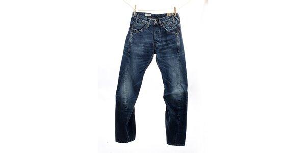 Pánské modré džíny se zalomenými nohavicemi Pepe Jeans
