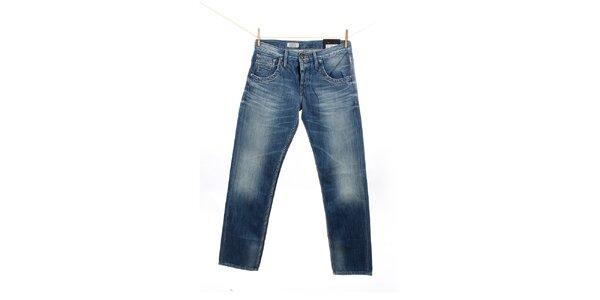 Pánské modré džíny s šisováním Pepe Jeans