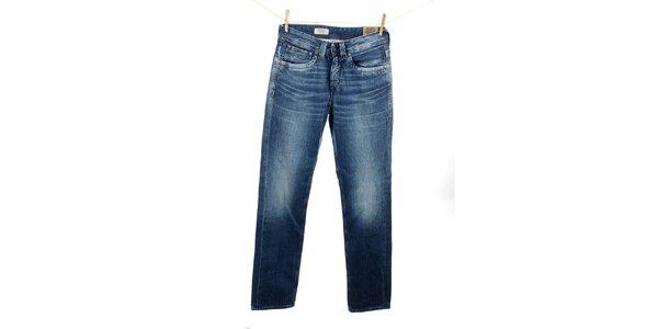 Pánské modré rovně střižené džíny Pepe Jeans