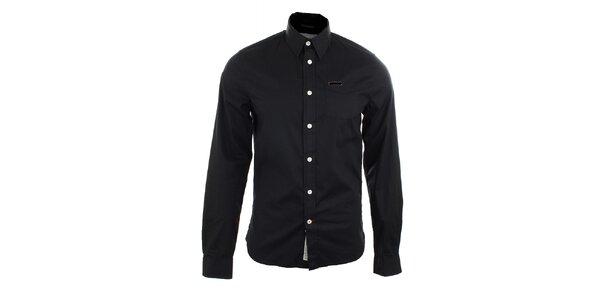 Pánská černá košile Pepe Jeans