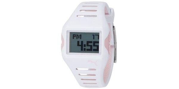 Plastové bílé hodinky Puma