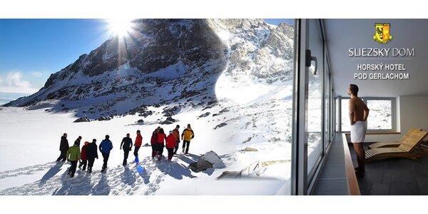 3denní wellness a lyžařský pobyt pro DVA v Tatrách