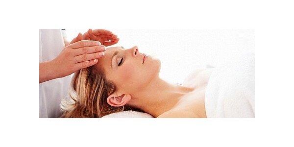 60minutová relaxační masáž obličeje a hlavy + maska na obličej