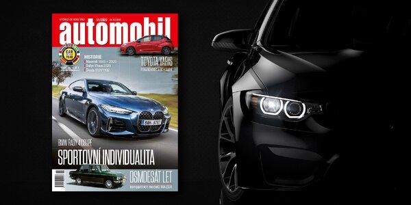 Na plný plyn: Roční předplatné časopisu Automobil