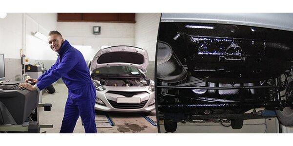 Antikorozní ochrana podvozku a dutin vozidel