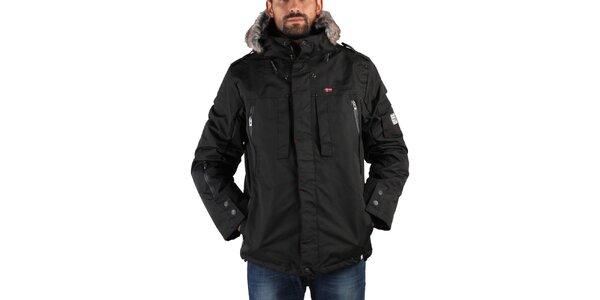 Pánská černá zimní bunda Geographical Norway