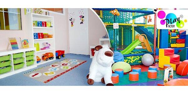 Miniškolka s hlídáním v Play Factory