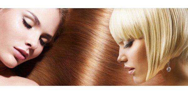 Nový střih vlasů a relaxační masáž hlavy