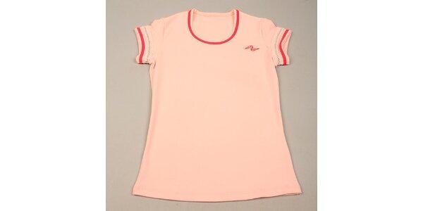 Dívčí růžové tričko Naffta