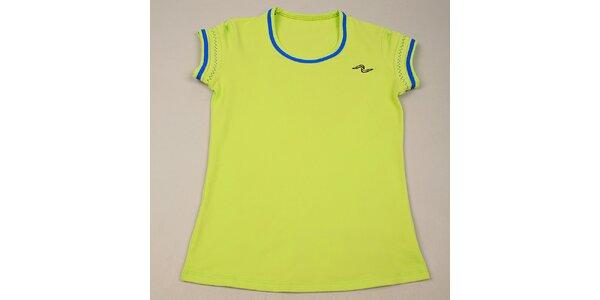 Dívčí světle zelené tričko Naffta