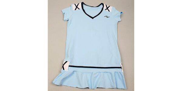 Dívčí modré tričko s kanýrkem Naffta