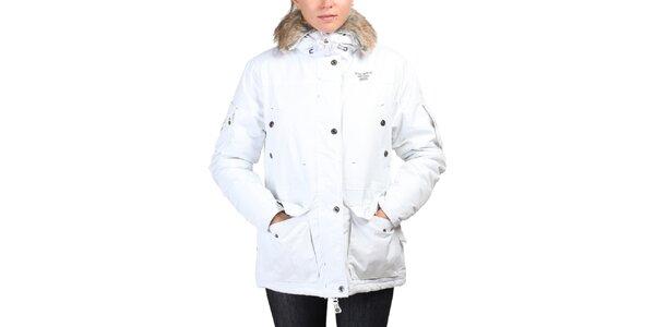 Dámská delší bílá bunda Geographical Norway
