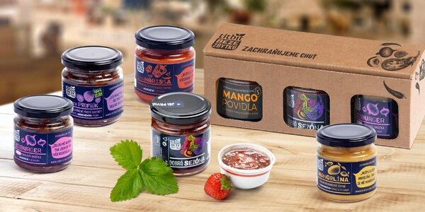 Titbit Beze zbytku: džemy, chutney i povidla