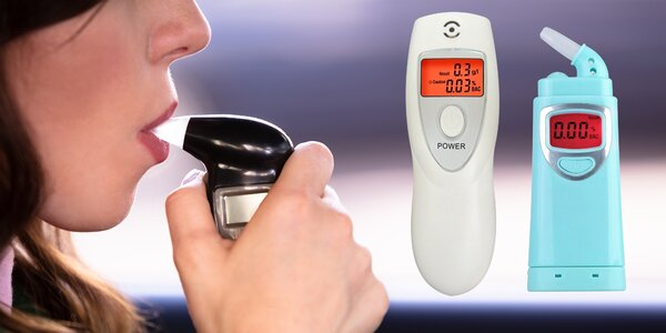 7 druhů alkoholtesterů s detekcí do 2 promile