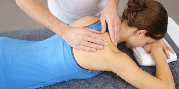 Relaxační masáž v délce 30 nebo 60 minut