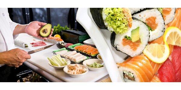 Kurz přípravy sushi s profesionály!