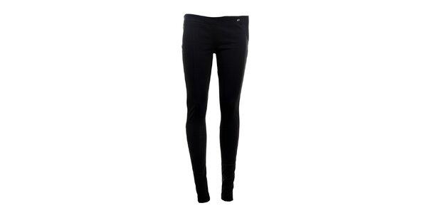 Dámské úzké černé kalhoty Phard
